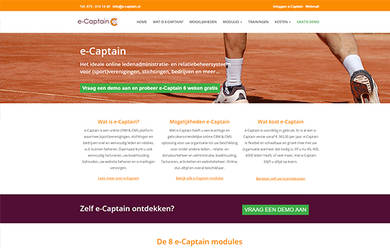 E captain website voorbeeld 002
